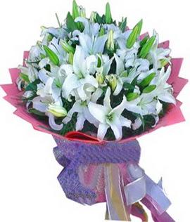7 dal cazablanca görsel buketi  Afyon çiçekçi mağazası