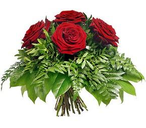 Afyon çiçek mağazası , çiçekçi adresleri  5 adet kırmızı gülden buket
