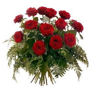 Afyon internetten çiçek satışı  15 adet kırmızı gülden buket