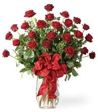 Sevgilime sıradışı hediye güller 24 gül  Afyon 14 şubat sevgililer günü çiçek