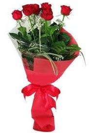 Çiçek yolla sitesinden 7 adet kırmızı gül  Afyon internetten çiçek satışı