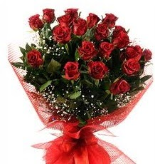 İlginç Hediye 21 Adet kırmızı gül  Afyon internetten çiçek siparişi