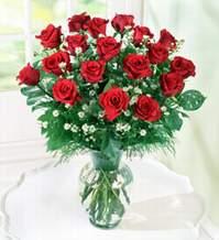 Afyon internetten çiçek satışı  9 adet mika yada vazoda kirmizi güller