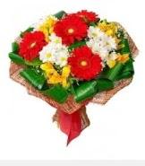 1 demet karışık buket  Afyon hediye sevgilime hediye çiçek