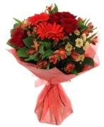 karışık mevsim buketi  Afyon internetten çiçek siparişi