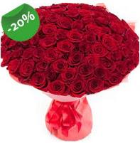 Özel mi Özel buket 101 adet kırmızı gül  Afyon anneler günü çiçek yolla