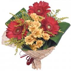 karışık mevsim buketi  Afyon çiçekçi mağazası