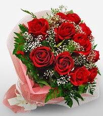 12 adet kırmızı güllerden kaliteli gül  Afyon çiçek siparişi vermek