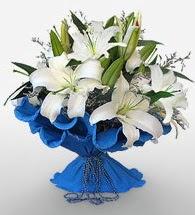 4 dal kazablanka çiçeğinden buket  Afyon cicek , cicekci