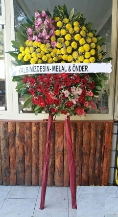Afyon anneler günü çiçek yolla  Cenaze çiçek modeli