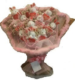 12 adet tavşan buketi  Afyon çiçek mağazası , çiçekçi adresleri