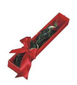 Afyon çiçek online çiçek siparişi  tek kutu gül sade ve sik