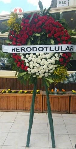Cenaze çelengi cenazeye çiçek modeli  Afyon çiçek satışı
