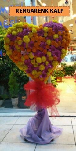 Ankara mevsim çiçeklerinden kalp perförje  Afyon çiçekçi telefonları