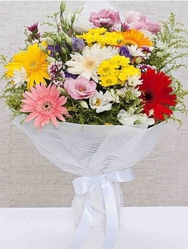 Karışık Mevsim Buketleri  Afyon ucuz çiçek gönder