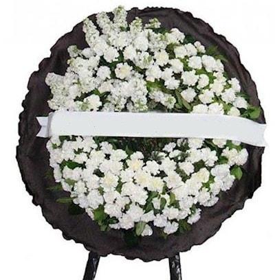 Cenaze çelengi çiçeği modelleri  Afyon internetten çiçek satışı