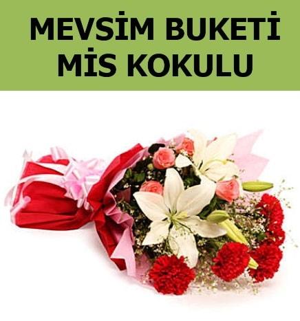 Karışık mevsim buketi mis kokulu bahar  Afyon ucuz çiçek gönder