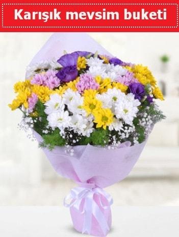 Karışık Kır Çiçeği Buketi  Afyon güvenli kaliteli hızlı çiçek