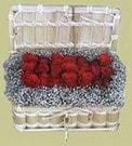 Afyon cicekciler , cicek siparisi  Sandikta 11 adet güller - sevdiklerinize en ideal seçim